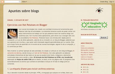 http://avalerofer.blogspot.com/2007/05/ejercicios-con-hot-potatoes-en-blogger.html