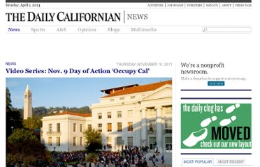 http://www.dailycal.org/2011/11/10/video-series-november-9-day-of-action-occupy-cal/