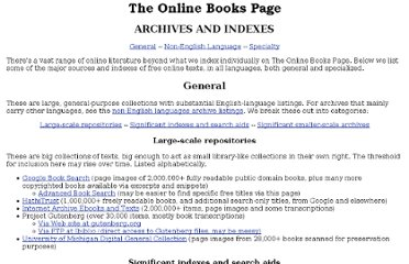 http://onlinebooks.library.upenn.edu/archives.html#poetry