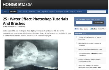 http://www.hongkiat.com/blog/droplet-water-effect-photoshop-tutorials/