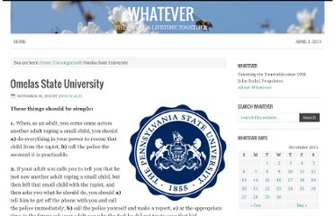 http://whatever.scalzi.com/2011/11/10/omelas-state-university/