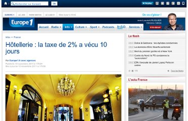 http://www.europe1.fr/France/Hotellerie-la-taxe-de-2-a-vecu-10-jours-810443/