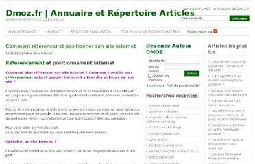 http://www.dmoz.fr/internet/comment-referencer-et-positionner-son-site-internet/