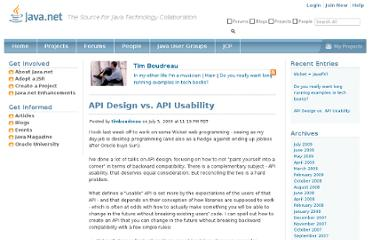 http://weblogs.java.net/blog/timboudreau/archive/2009/07/api_design_vs_a_1.html