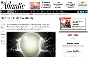 http://www.theatlantic.com/business/archive/2011/11/how-to-think-creatively/248211/