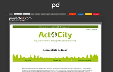 http://www.proyectod.com/actforcity_final/act_for_city.html