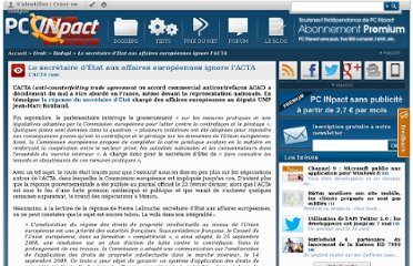 http://www.pcinpact.com/news/55758-acta-europe-contrefacon-secret-gouvernement.htm