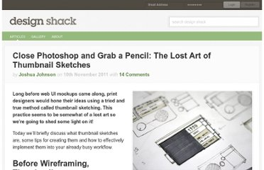 http://designshack.net/articles/inspiration/close-photoshop-and-grab-a-pencil-the-lost-art-of-thumbnail-sketches/