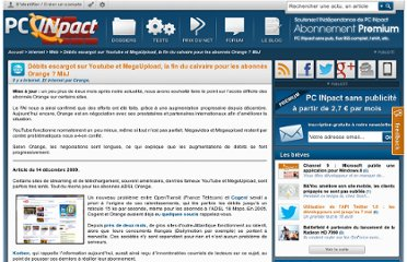 http://www.pcinpact.com/news/54555-lenteurs-youtube-megaupload-orange-dns.htm