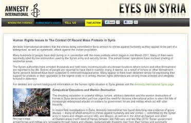 http://www.eyesonsyria.org/hr_issues.html