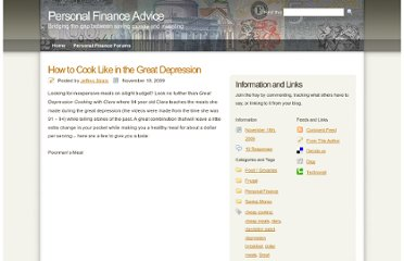 http://www.pfadvice.com/2009/11/18/how-to-cook-like-in-the-great-depression/
