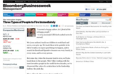 http://www.businessweek.com/management/three-types-of-people-to-fire-immediately-11082011.html