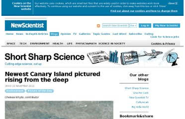 http://www.newscientist.com/blogs/shortsharpscience/2011/11/newest-canary-island-pictured.html