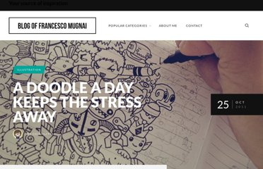 http://blogof.francescomugnai.com/2011/10/a-doodle-a-day-keeps-the-stress-away/