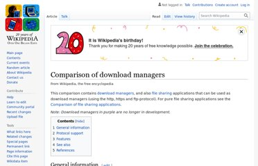 http://en.wikipedia.org/wiki/Comparison_of_download_managers