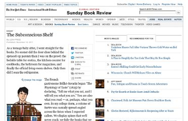http://www.nytimes.com/2011/11/13/books/review/the-subconscious-shelf.html