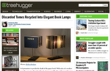 http://www.treehugger.com/sustainable-product-design/discarded-tomes-recycled-into-elegant-book-lamps.html