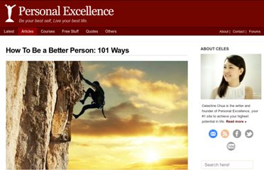 http://personalexcellence.co/blog/101-ways-to-be-a-better-person/