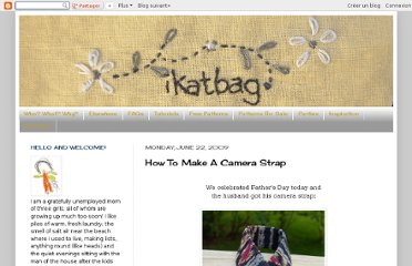 http://www.ikatbag.com/2009/06/how-to-make-camera-strap.html