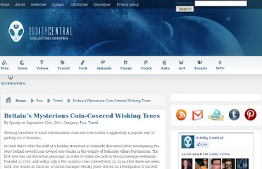 http://www.odditycentral.com/pics/britains-mysterious-coin-covered-wishing-trees.html