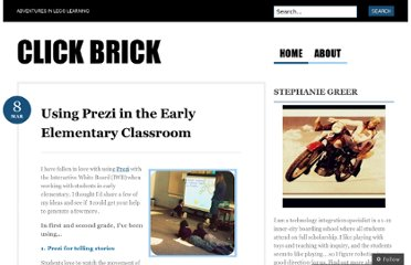 http://clickbrick.wordpress.com/2011/03/08/using-prezi-in-the-early-elementary-classroom/