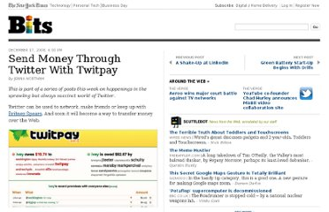 http://bits.blogs.nytimes.com/2008/12/17/send-cash-through-twitter-with-twitpay/