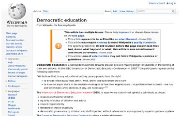 http://en.wikipedia.org/wiki/Democratic_education