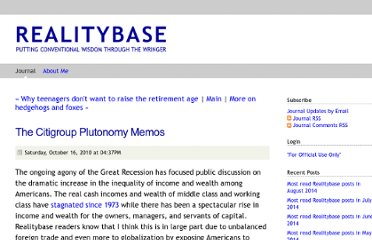 http://www.realitybase.org/journal/2010/10/16/the-citigroup-plutonomy-memos.html