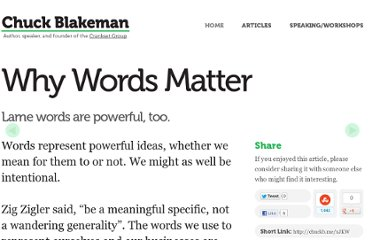 http://chuckblakeman.com/2011/1/texts/why-words-matter