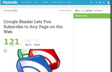 http://mashable.com/2010/01/25/google-reader-custom-feeds/