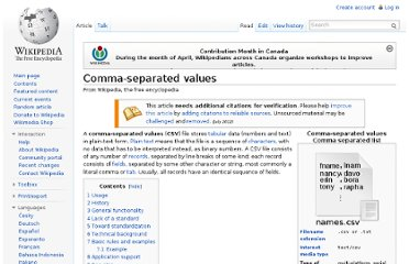 http://en.wikipedia.org/wiki/Comma-separated_values