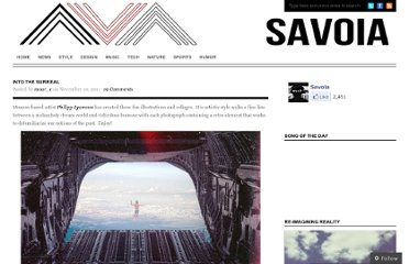 http://thesavoia.com/2011/11/10/into-the-surreal/