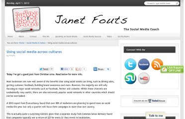 http://janetfouts.com/using-social-media-across-cultures/