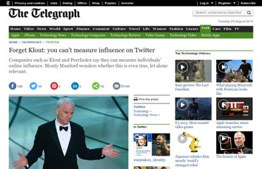 http://www.telegraph.co.uk/technology/twitter/8884941/Forget-Klout-you-cant-measure-influence-on-Twitter.html