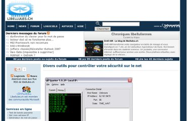 http://www.libellules.ch/divers_security.php#La