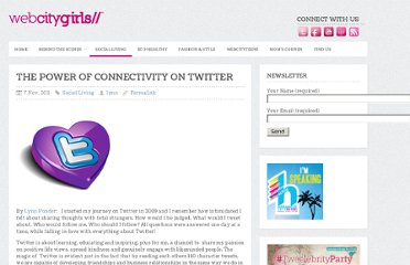http://webcitygirls.com/2011/11/the-power-of-connectivity-on-twitter/#comment-42