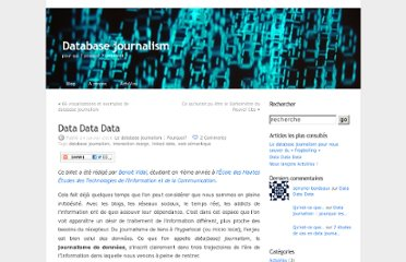 http://databasejournalism.wordpress.com/2010/01/24/data-data-data/