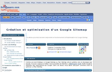 http://brys.developpez.com/articles/google-sitemap/