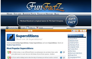http://www.funfactz.com/superstitions/