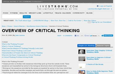 http://www.livestrong.com/article/14710-overview-of-critical-thinking/