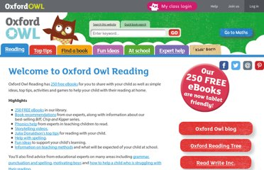 http://www.oxfordowl.co.uk/Reading/