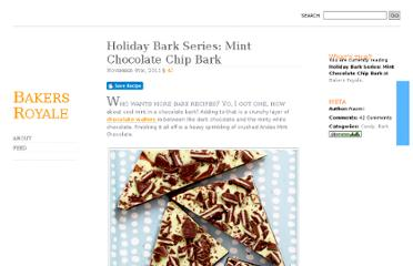 http://www.bakersroyale.com/candy/holiday-bark-series-mint-chocolate-chip-bark/