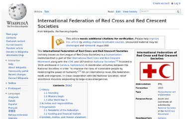http://en.wikipedia.org/wiki/International_Federation_of_Red_Cross_and_Red_Crescent_Societies