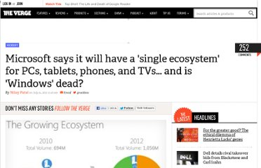 http://www.theverge.com/2011/07/14/microsoft-one-ecosystem-pcs-tablets-phones-tvs-windows-brand-over/