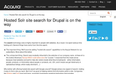http://www.acquia.com/blog/hosted-solr-site-search-drupal-way