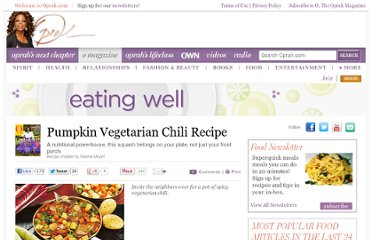 http://www.oprah.com/food/Pumpkin-Vegetarian-Chili-Recipe?cXFm&SiteID=stumble-pumpkin-chili&cQZm