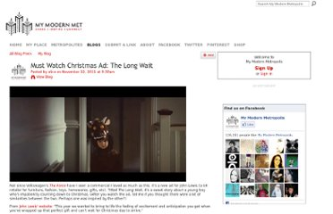 http://www.mymodernmet.com/profiles/blogs/john-lewis-christmas-ad-2011