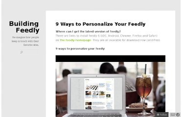 http://blog.feedly.com/personalize/