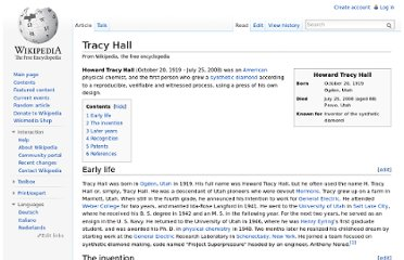 http://en.wikipedia.org/wiki/Tracy_Hall