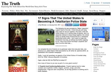 http://thetruthwins.com/archives/17-signs-that-the-united-states-is-becoming-a-totalitarian-police-state